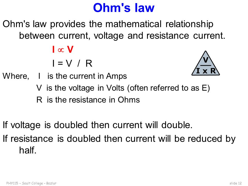 direct current circuits 16 1 and resistance relationship