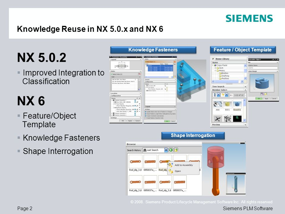knowledge reuse what's new in nx6 may ppt download, Presentation templates