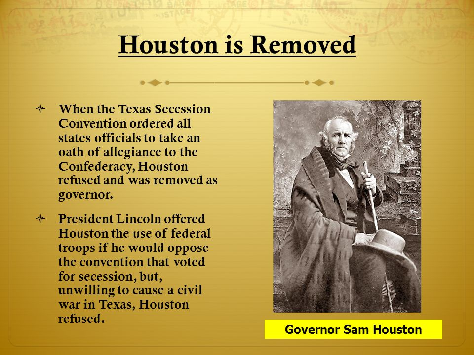 Texas Secession Essential Questions Ppt Video Online