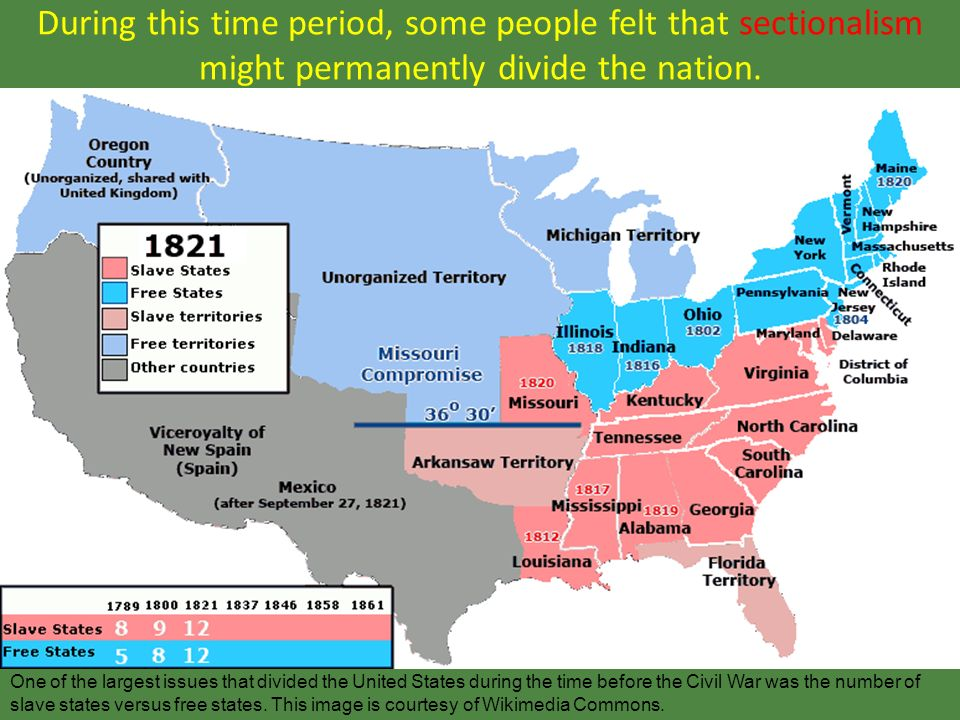 US Map AmericanHistorymapsmapsUSmapjpghtml The United - Us slave states map