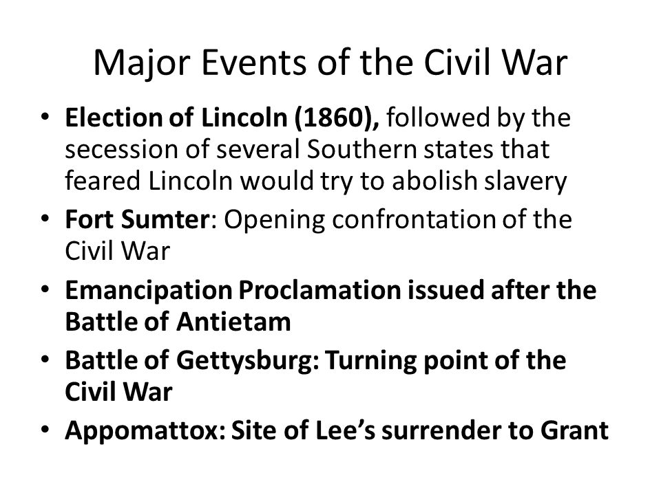 Turning point of the American Civil War