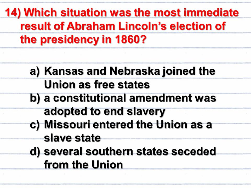 essay on why the south seceded from the union Five myths about why the south seceded 1 of 51 many americans think abolition was the union's goal but the north initially went to war to hold the.