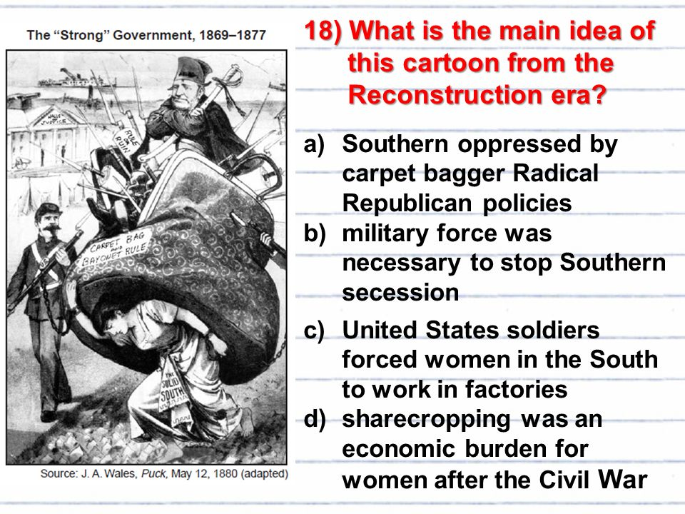 the us economy after the civil war What effects on the economy happened after the civil war.