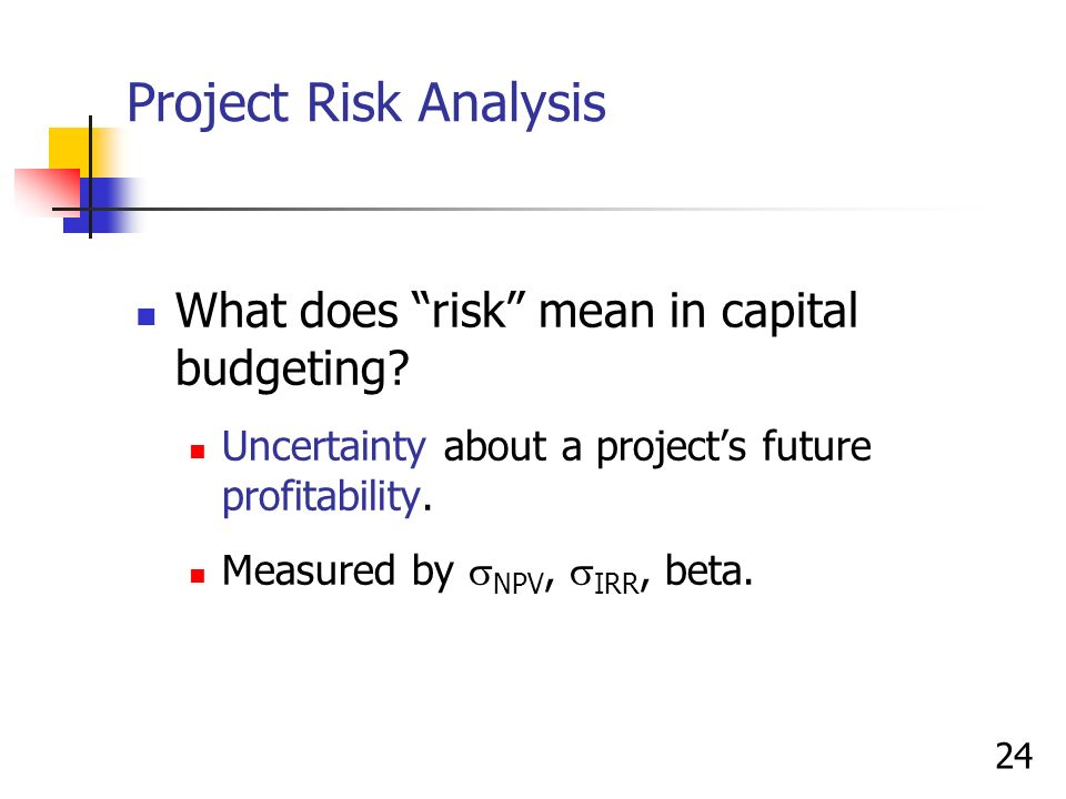 You are conducting capital project analysis for a hospital. Download and read th