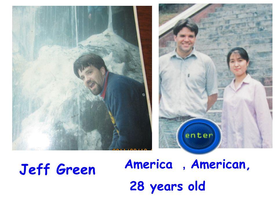 America ,American, 28 years old Jeff Green