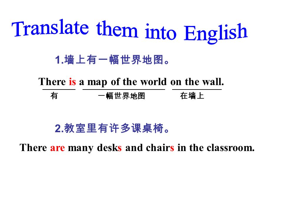 Translate them into English