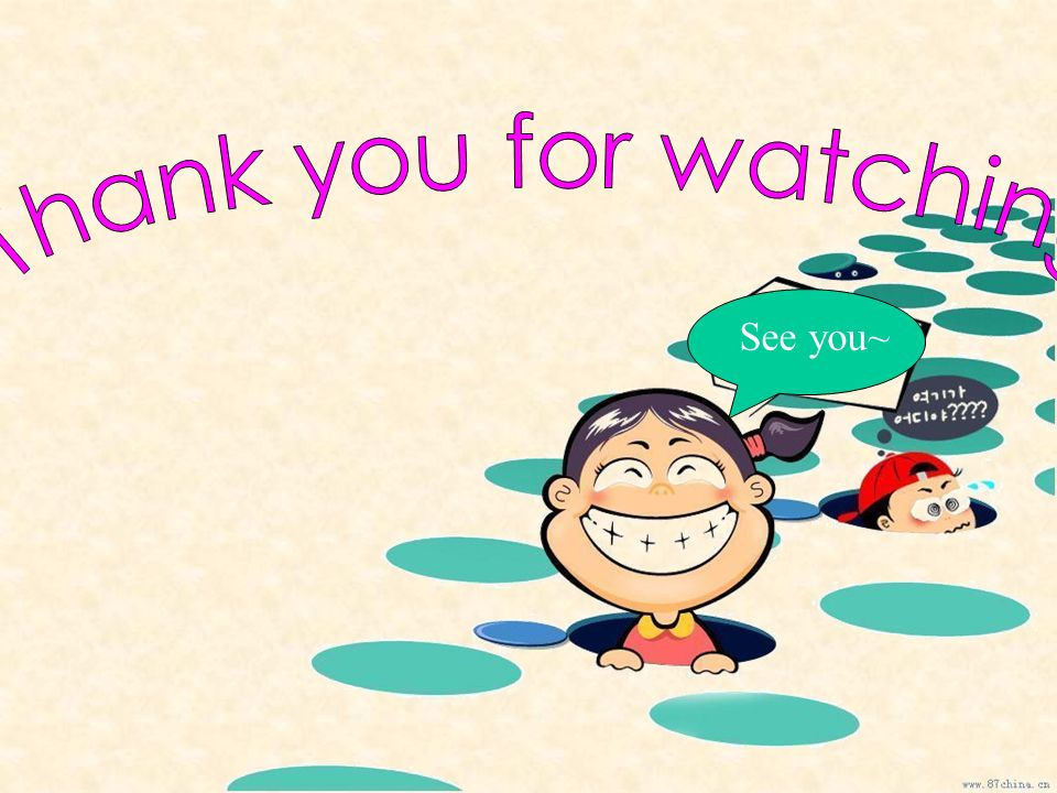 Thank you for watching See you~