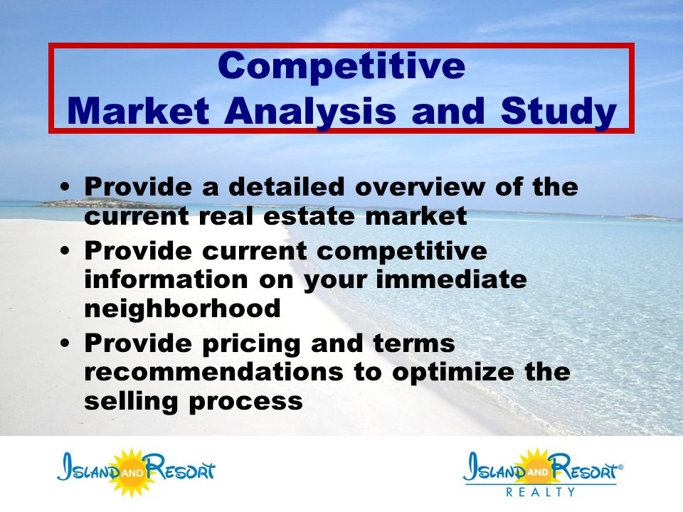 Competitive Market Analysis And Study