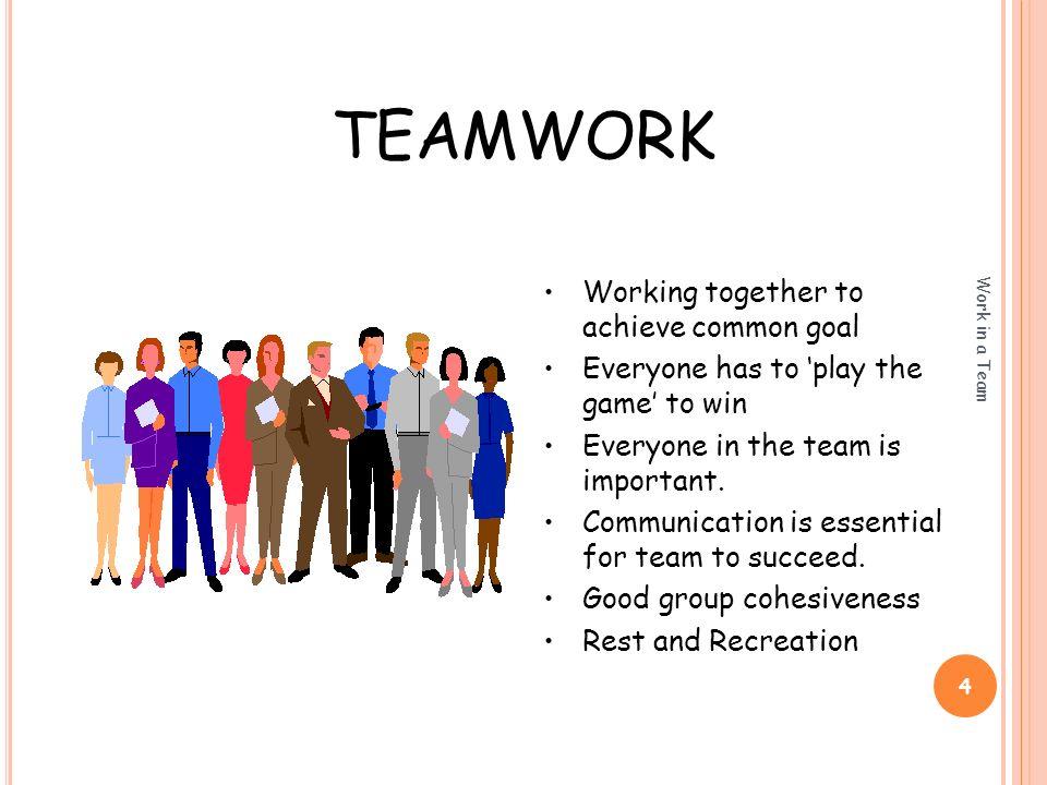 teamwork at work