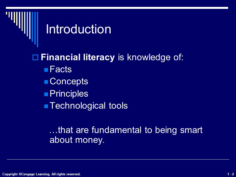 introduction to personal finance pdf