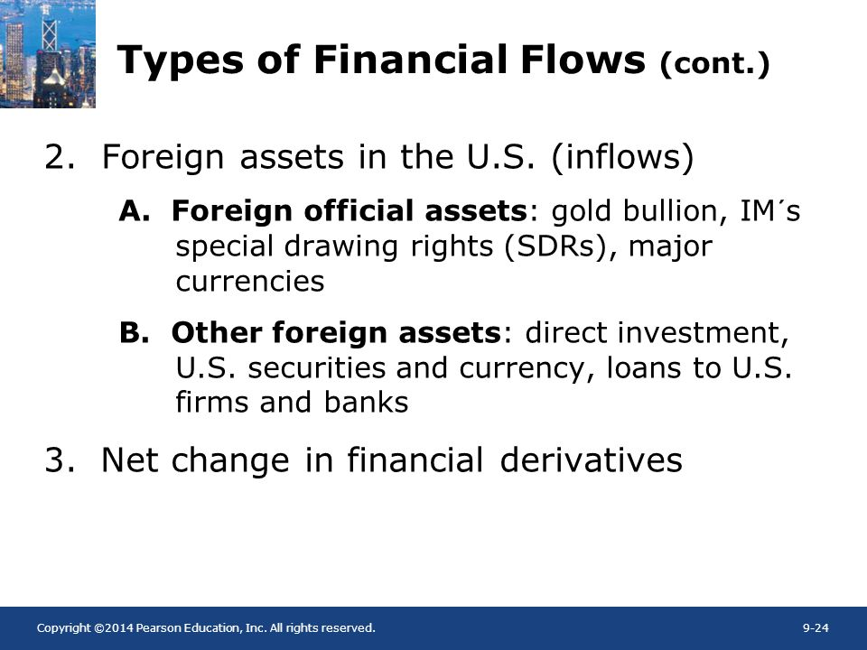 Types of Financial Flows (cont.)