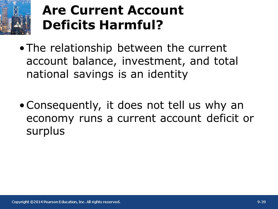Are Current Account Deficits Harmful