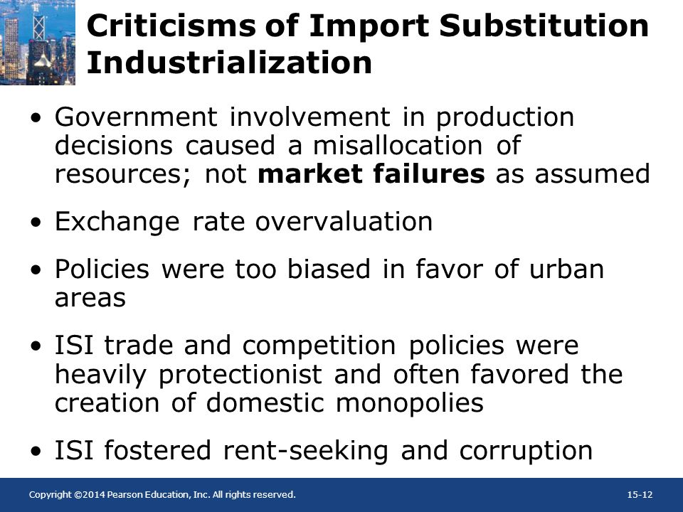 Criticisms of Import Substitution Industrialization