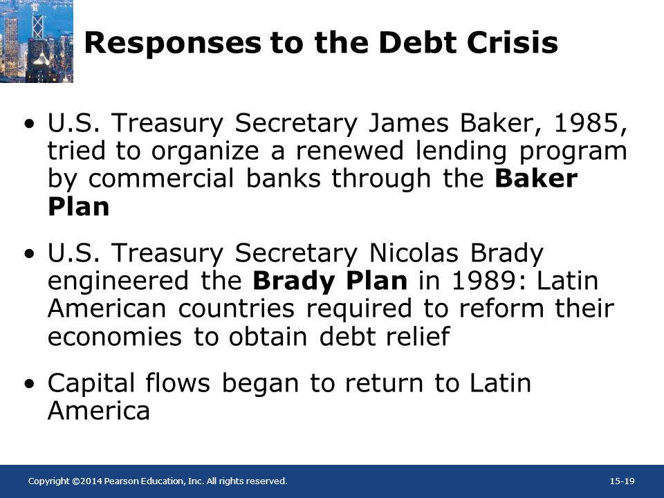 Responses to the Debt Crisis