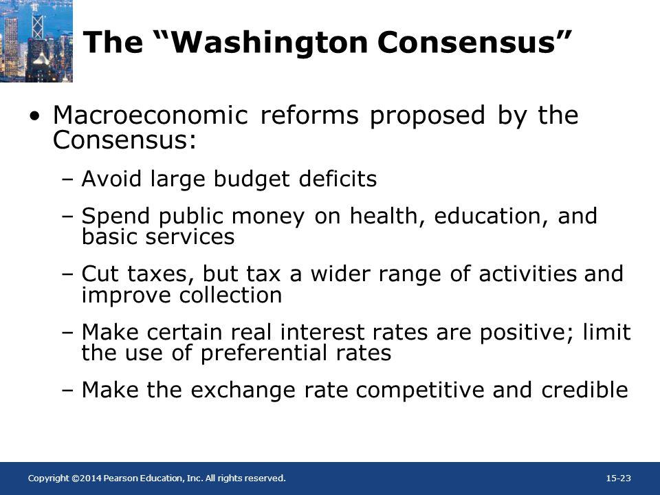 The Washington Consensus