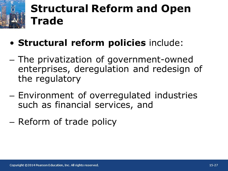 Structural Reform and Open Trade