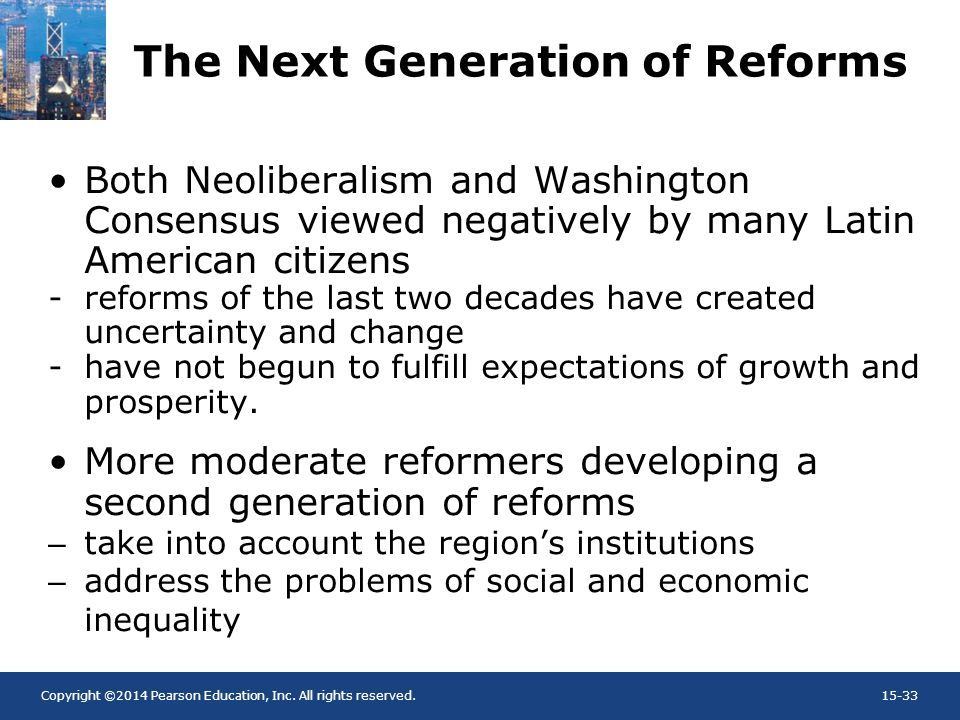 The Next Generation of Reforms