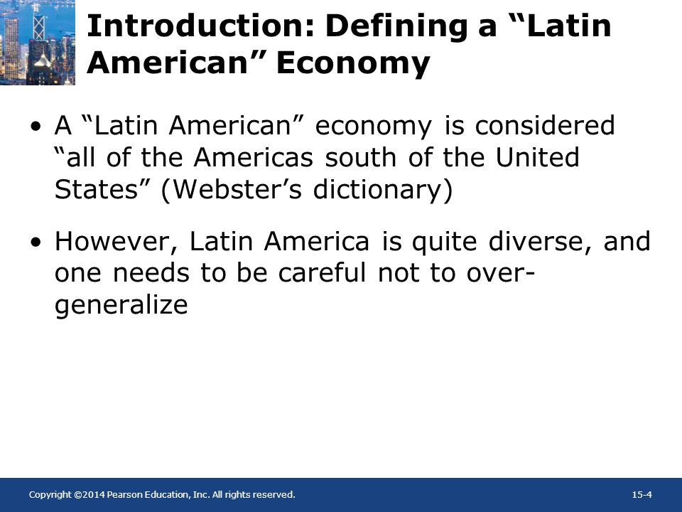 Introduction: Defining a Latin American Economy