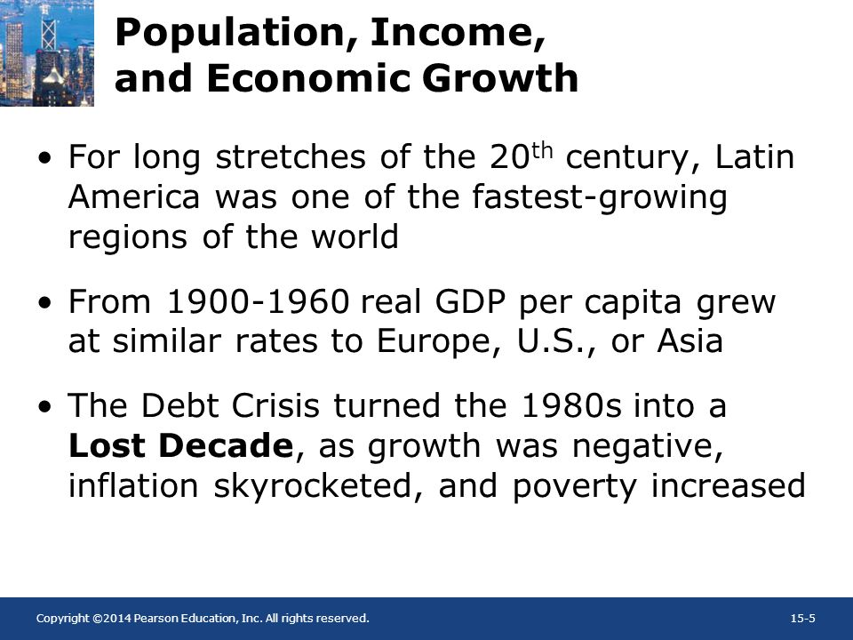 Population, Income, and Economic Growth