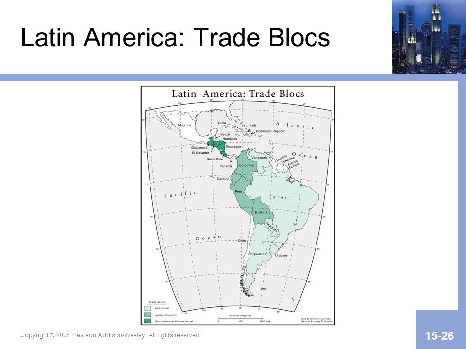 Latin America: Trade Blocs