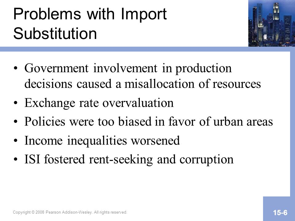 Problems with Import Substitution