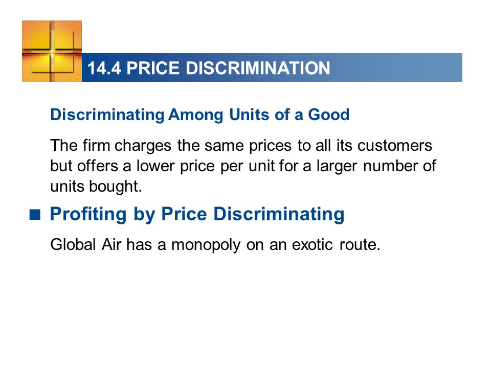 Profiting by Price Discriminating