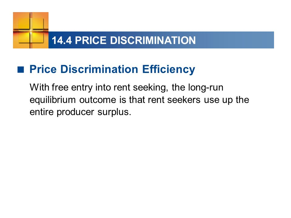 Price Discrimination Efficiency