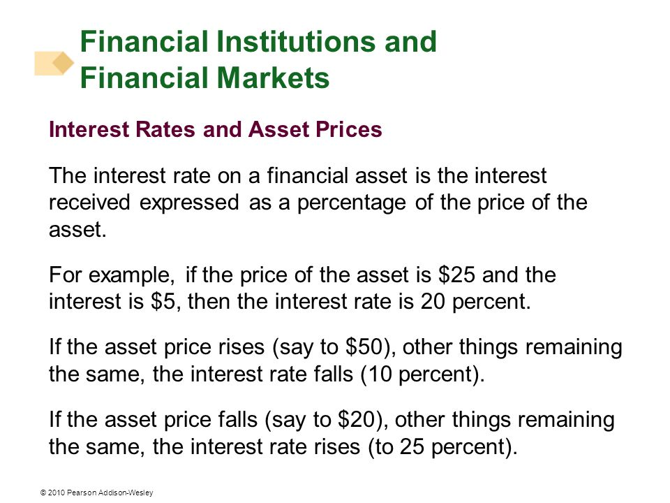 Financial Institutions and Financial Markets