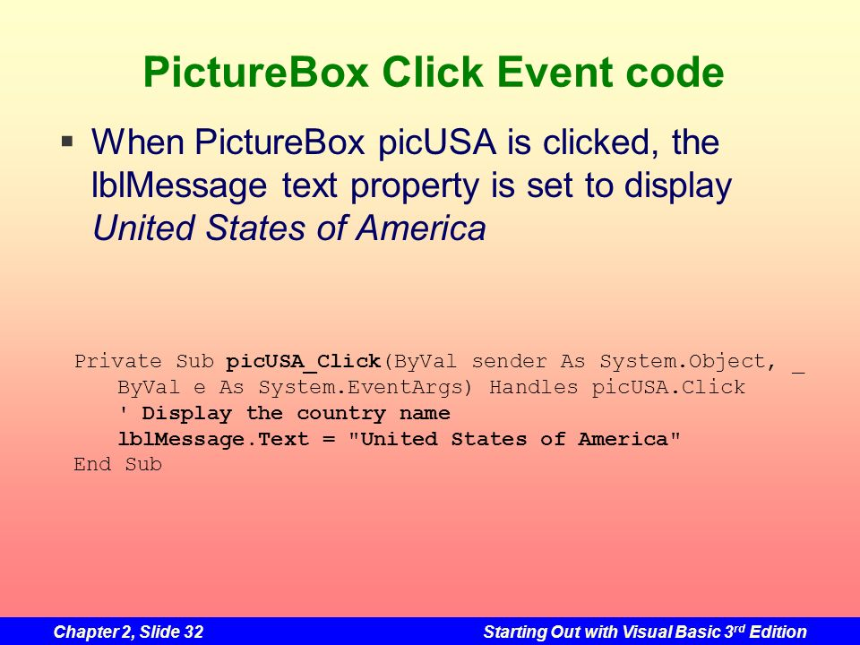 PictureBox Click Event code