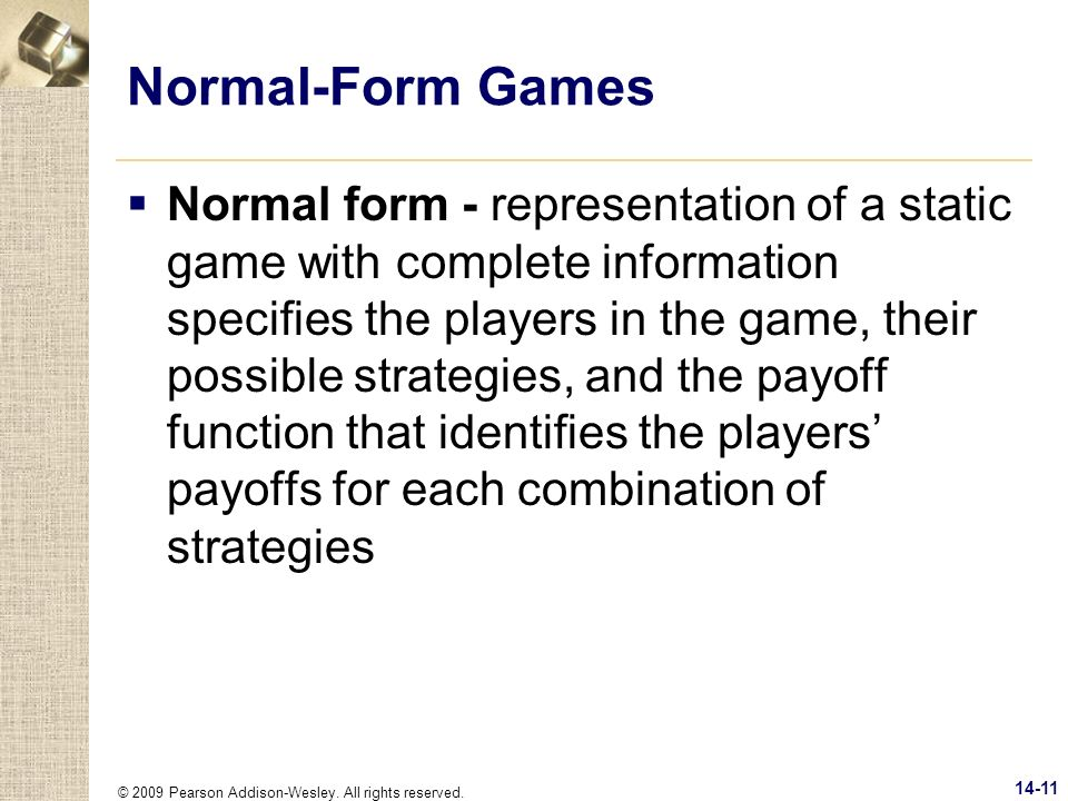 Normal-Form Games