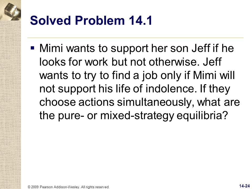 Solved Problem 14.1