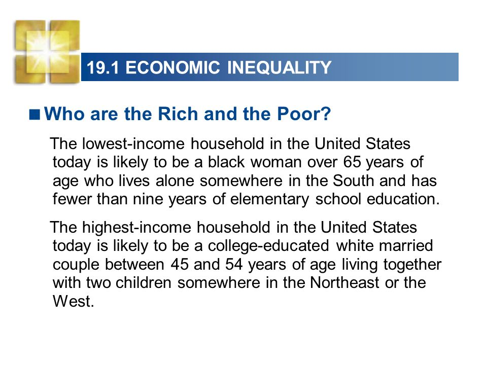 Who are the Rich and the Poor
