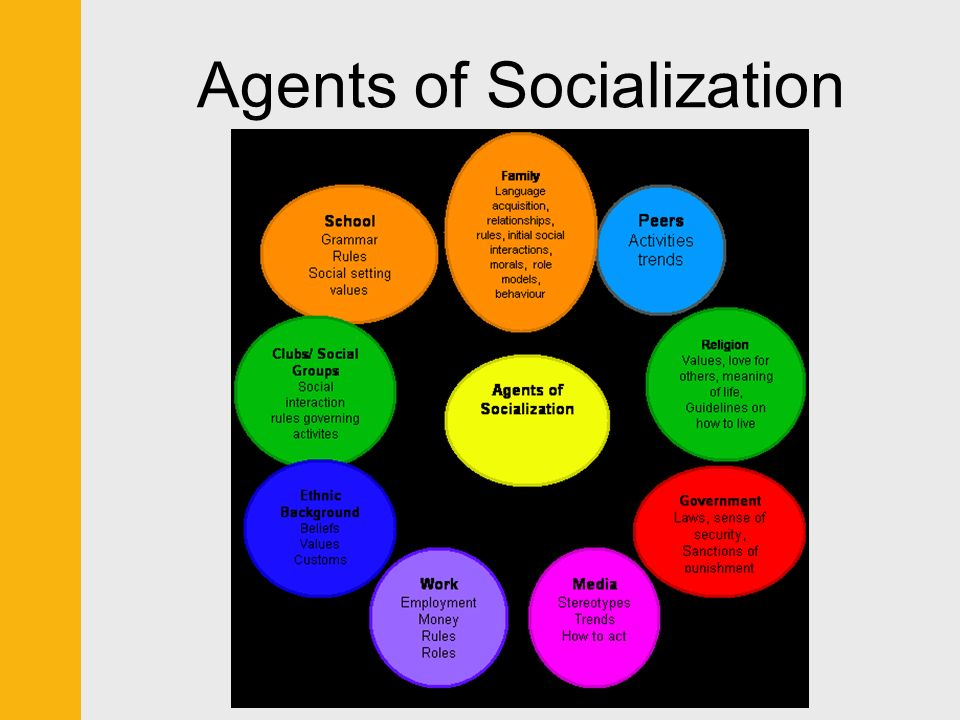 agents of socialisation Check your understanding of socialization agents using this interactive quiz and printable worksheet these resources will help you assess your.