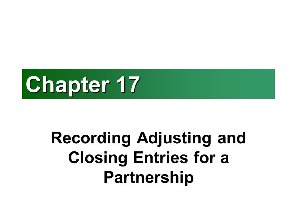 adjusting the accounts reviewer The adjusting accounts and preparing financial statements chapter of this financial accounting: help & review course is the simplest way to master adjusting accounts and preparing financial.