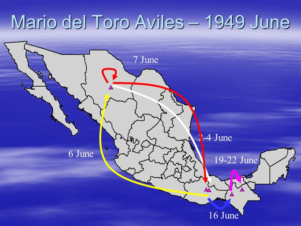 Mario del Toro Aviles – 1949 June