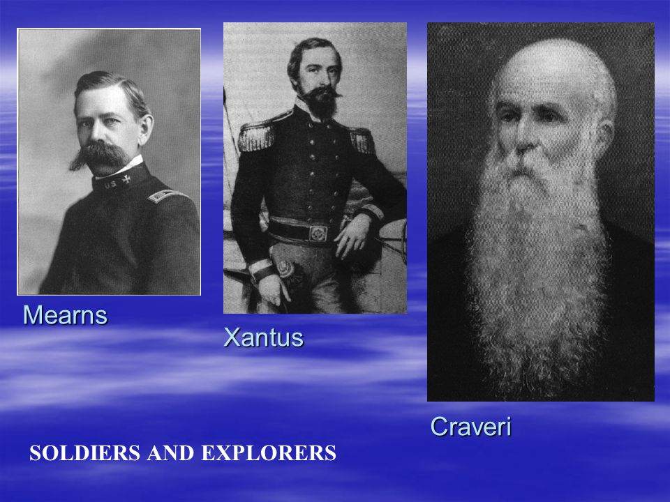 Mearns Xantus Craveri SOLDIERS AND EXPLORERS