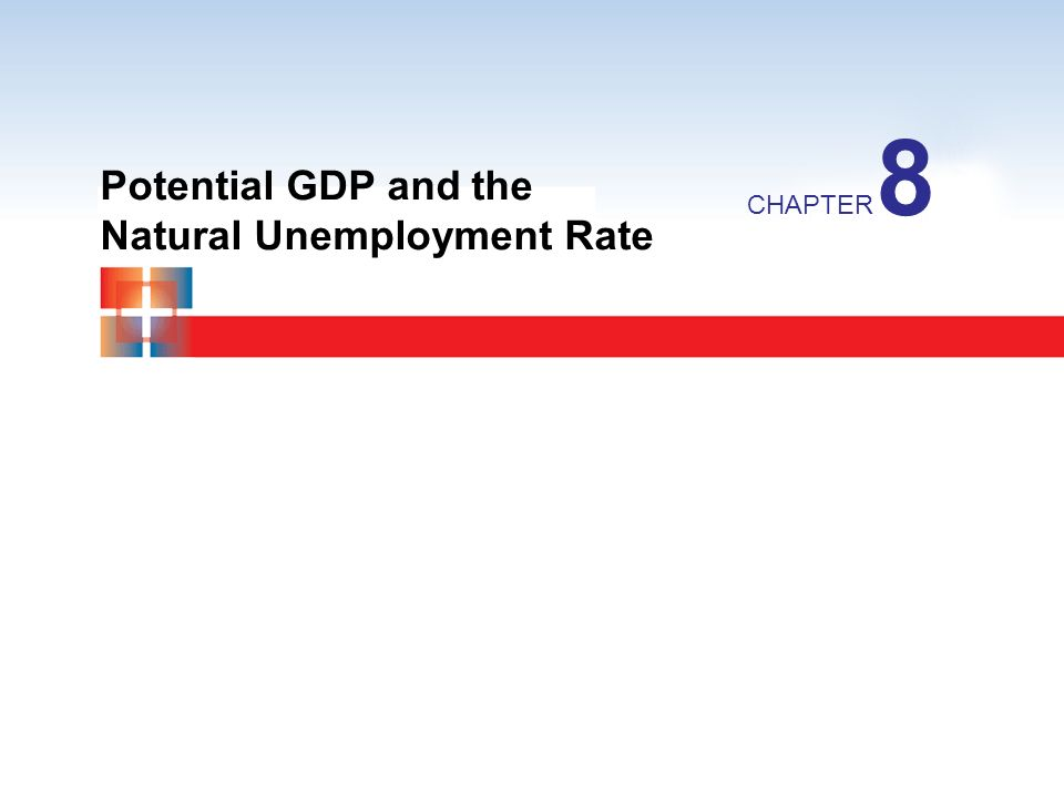 8 Potential GDP and the Natural Unemployment Rate CHAPTER