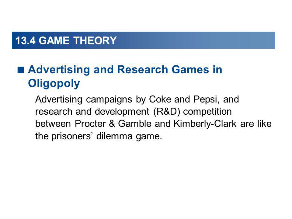 Advertising and Research Games in Oligopoly