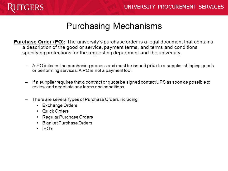 PURCHASING POLICY TRAINING ppt download – Is a Purchase Order a Legal Document