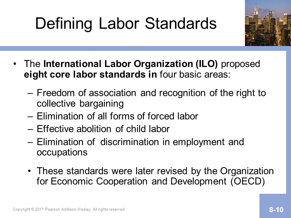 Defining Labor Standards