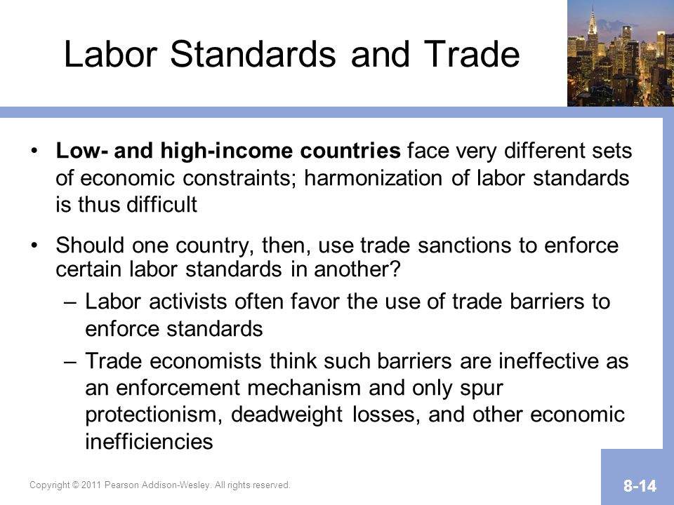 Labor Standards and Trade