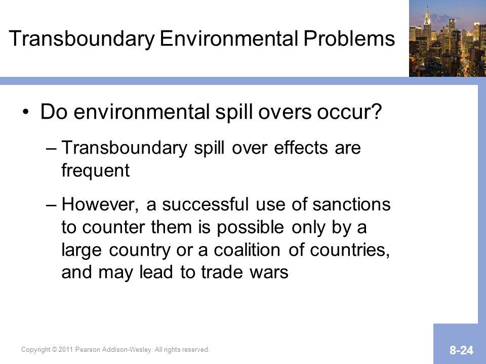 Transboundary Environmental Problems