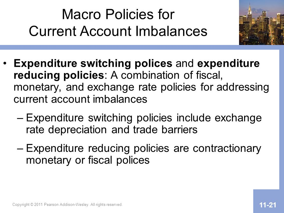 Macro Policies for Current Account Imbalances