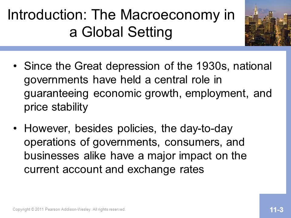 Introduction: The Macroeconomy in a Global Setting