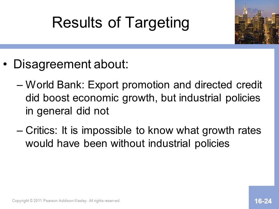 Results of Targeting Disagreement about:
