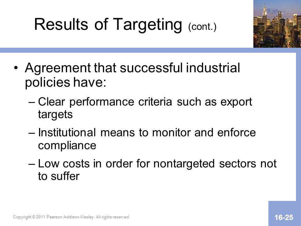 Results of Targeting (cont.)
