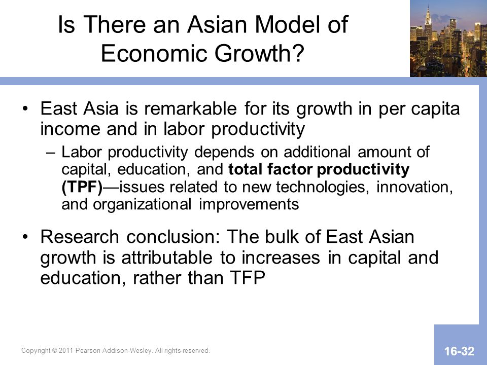Is There an Asian Model of Economic Growth