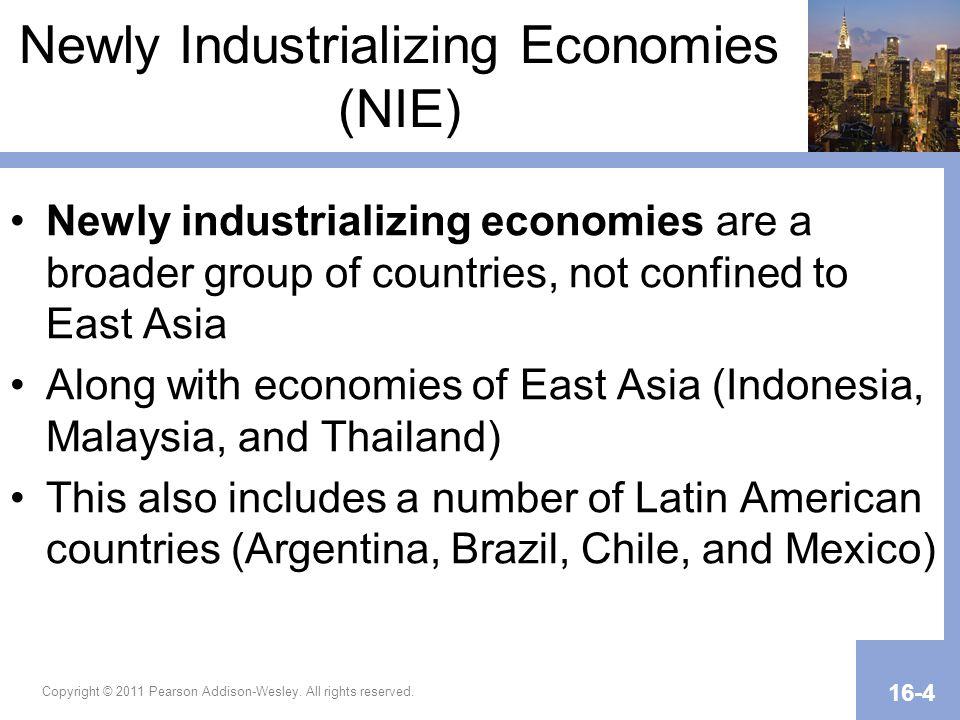 Newly Industrializing Economies (NIE)