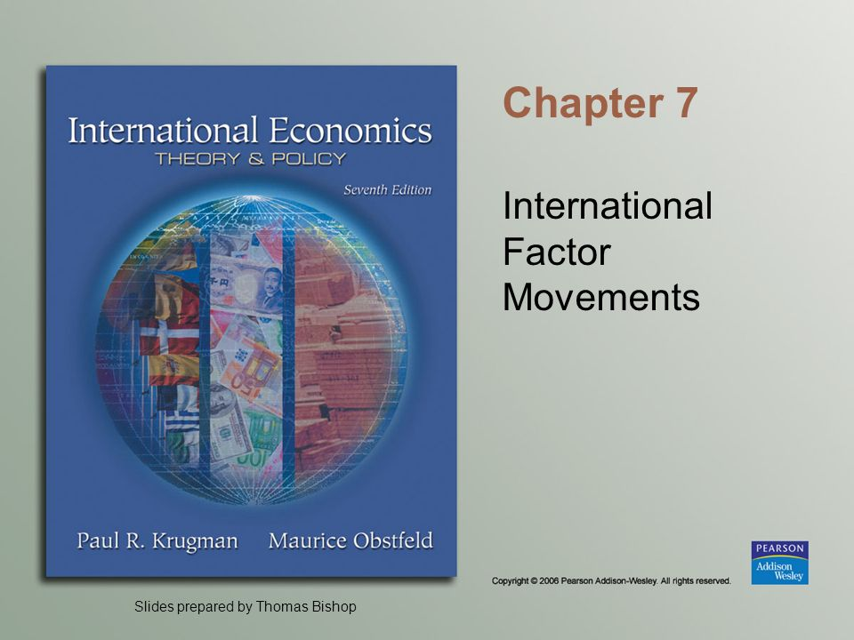 International Factor Movements