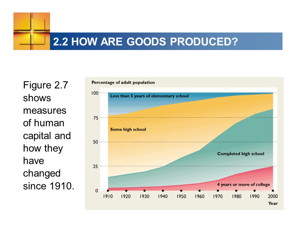 2.2 HOW ARE GOODS PRODUCED.